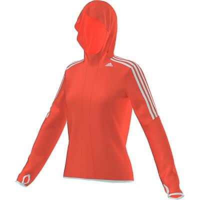 Dámská běžecká mikina adidas response icon hoodie w