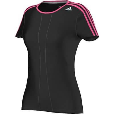 Dámské běžecké triko adidas response ss tee w