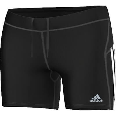 Dámské běžecké kraťasy adidas response short tights w