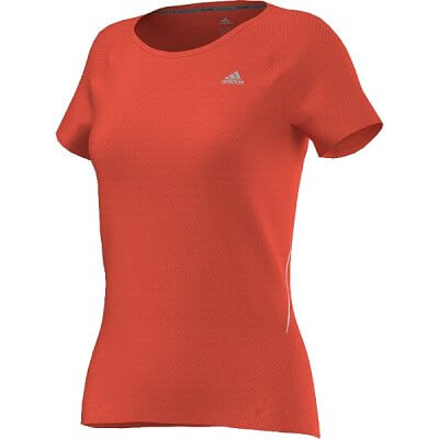 adidas sequencials cc run short sleeve tee w