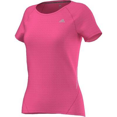 Dámské běžecké triko adidas sequencials cc run short sleeve tee w