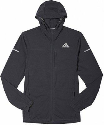 Pánská běžecká bunda adidas sq clima protect slim jacket m