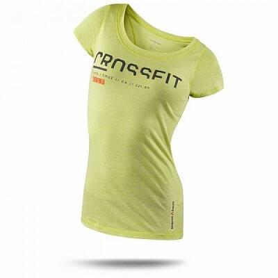 Trička REEBOK CF SS TRI GR1 dámské crossfitové triko