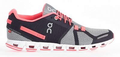 Dámské běžecké boty On Running Cloud Grey/Neon Pink