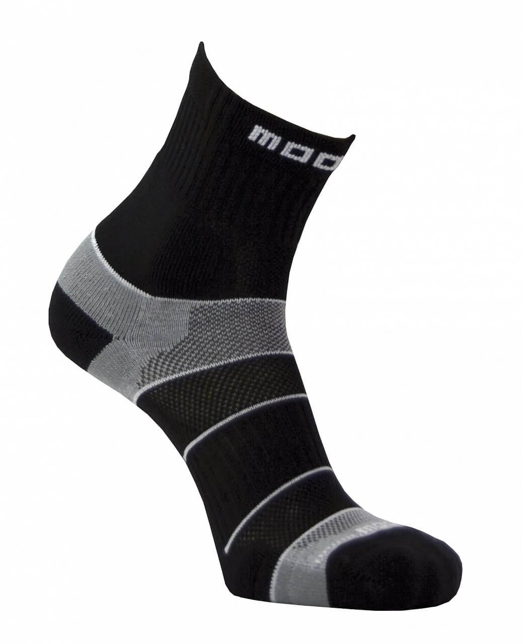 Moose Motion černé - unisexové sportovní ponožky - ponožky ... 93a34bc7ca