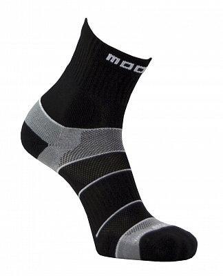 Unisexové sportovní ponožky Moose Motion Black