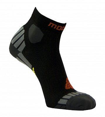 Unisexové běžecké ponožky Moose Ultramarathon Black