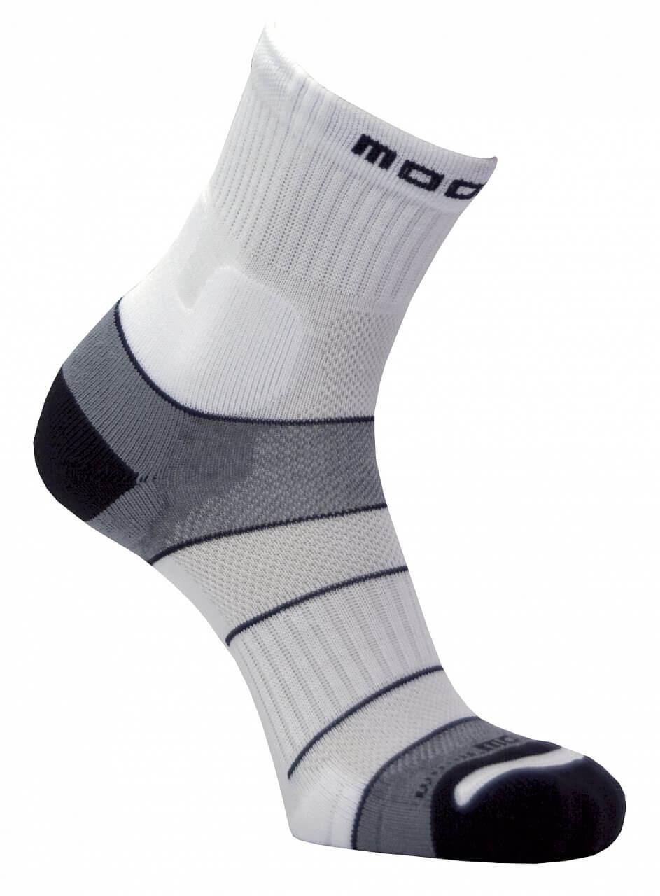 Unisexové sportovní ponožky Moose Motion White