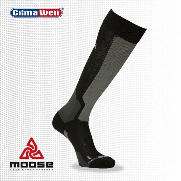 Ponožky Moose Orienteering - čierne - unisexové športové ponožky