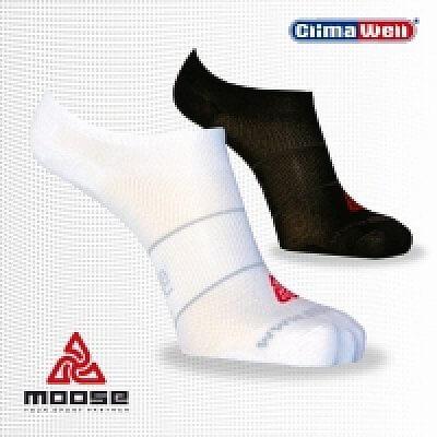 Ponožky Moose  Sun - bílé - unisexové ponožky