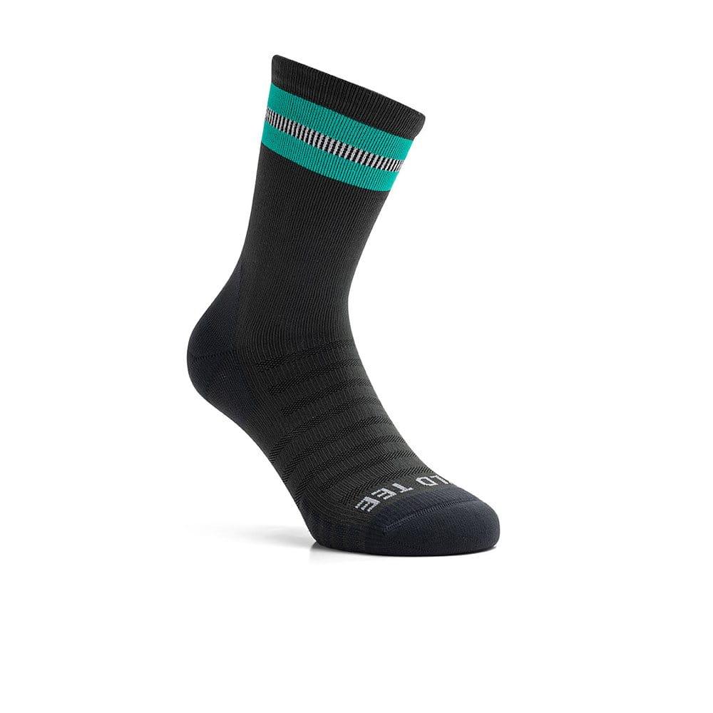 Kraťasy WildTee Funkční Běžecké Ponožky Green
