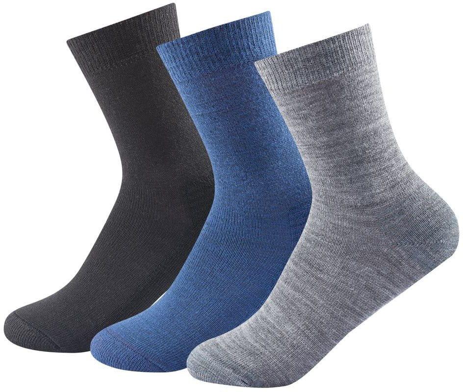 Středně silné vlněné ponožky Devold Daily Medium Sock 3pk