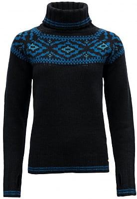 Dámsky tradičné teplý vlnený sveter Devold Ona Woman Round Sweater