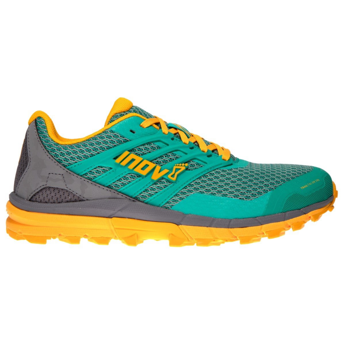 Běžecká obuv Inov-8  TRAIL TALON 290 W (S) teal/grey/yellow zelená/šedá/žlutá