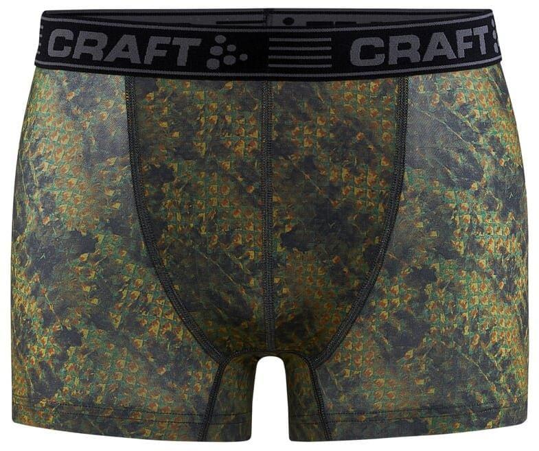 """Spodní prádlo Craft Boxerky Greatness 3"""" žlutá"""