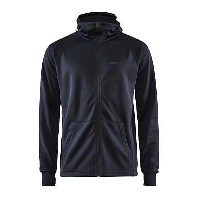Mikiny Craft Mikina Charge Tech Sweat Hood černá