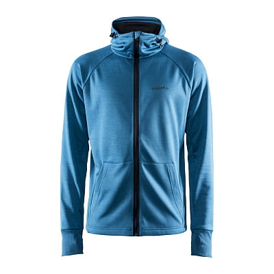 Mikiny Craft Mikina Charge Tech Sweat Hood tmavě modrá