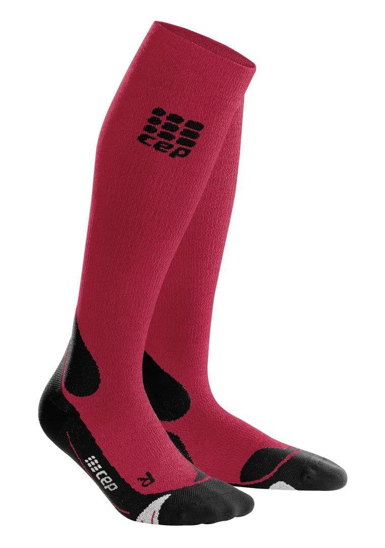 Ponožky CEP Outdoorové podkolenky MERINO pánské