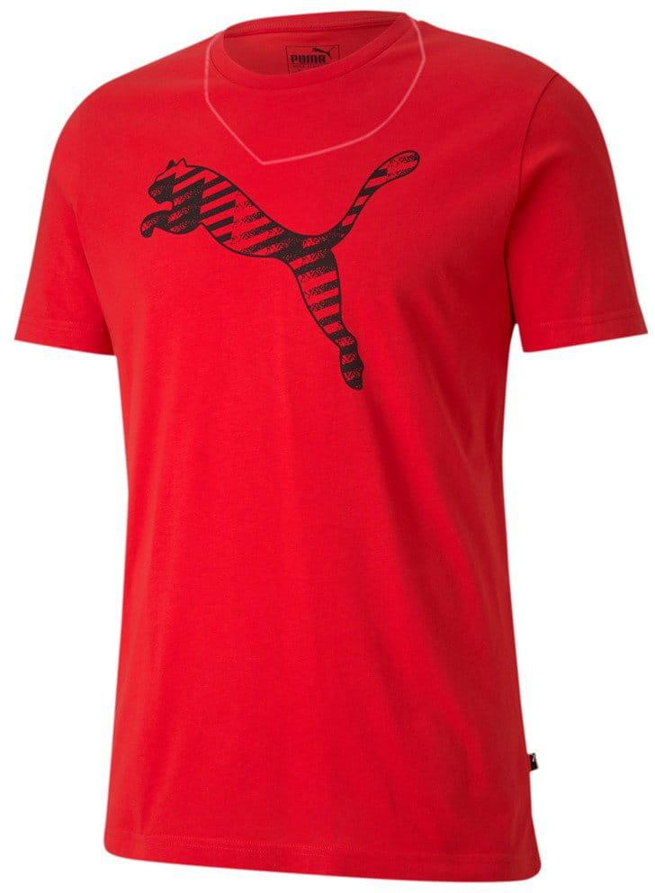 Pánské sportovní tričko Puma Cat Brand Logo Tee