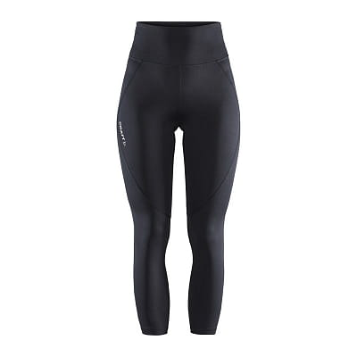 Kalhoty Craft W Kalhoty ADV Essence High Waist černá