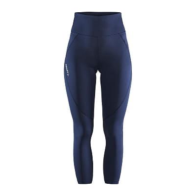 Kalhoty Craft W Kalhoty ADV Essence High Waist tmavě modrá