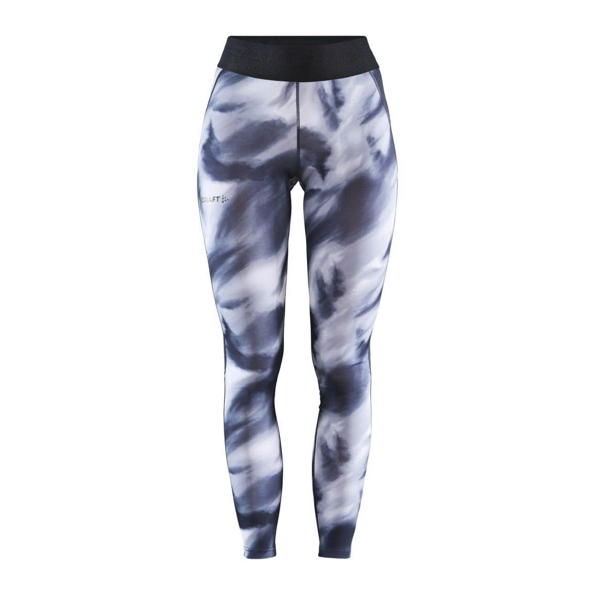 Kalhoty Craft W Kalhoty ADV Core Essence bílá s černou