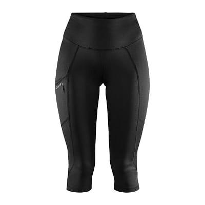 Kalhoty Craft W Kalhoty ADV Essence 3/4 černá