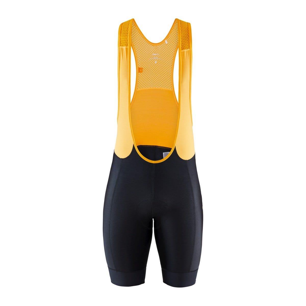 Pánské krátké cyklistické kalhoty Craft Cyklokalhoty Train Pack Bib černá s oranžovou