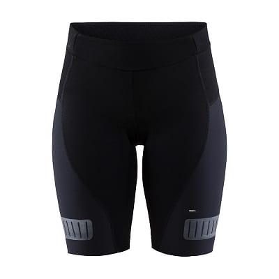 Dámské krátké cyklistické kalhoty Craft W Cyklokalhoty Hale Glow černá