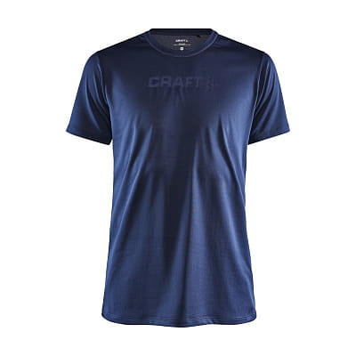 Trička Craft Triko Core Essence Mesh SS tmavě modrá