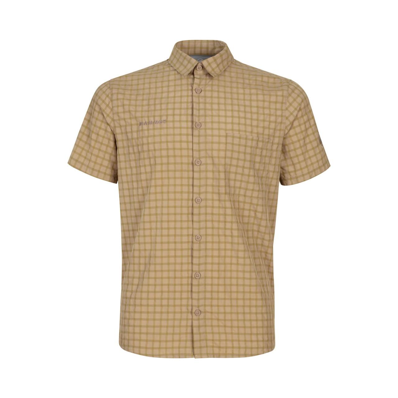 Pánská košile s krátkým rukávem Mammut Lenni Shirt Men