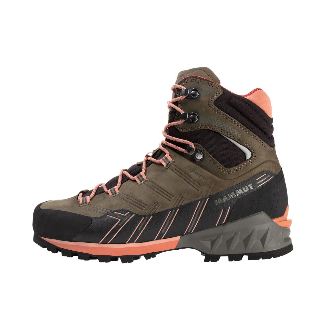 Moderní horolezecká bota Nubuck Mammut Kento Guide High GTX Women