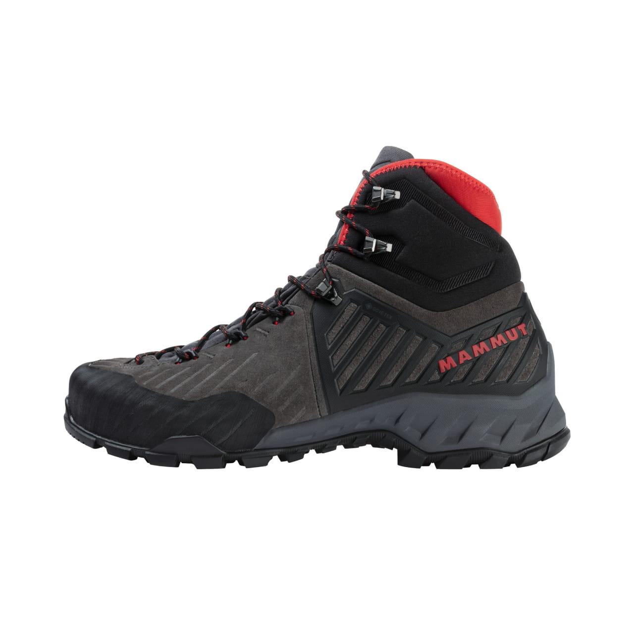 Lehká turistická bota pro přilnavost a přesnost Mammut Alnasca Pro II Mid GTX Men
