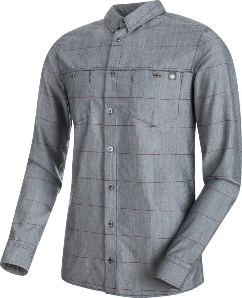 Pánská košile s dlouhým rukávem Mammut Alvra Longsleeve Shirt Men