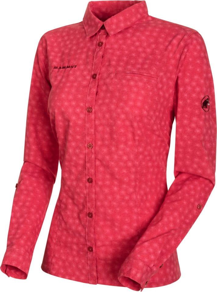 Dámská košile s dlouhým rukávem Mammut Trovat Advanced Longsleeve Shirt Women