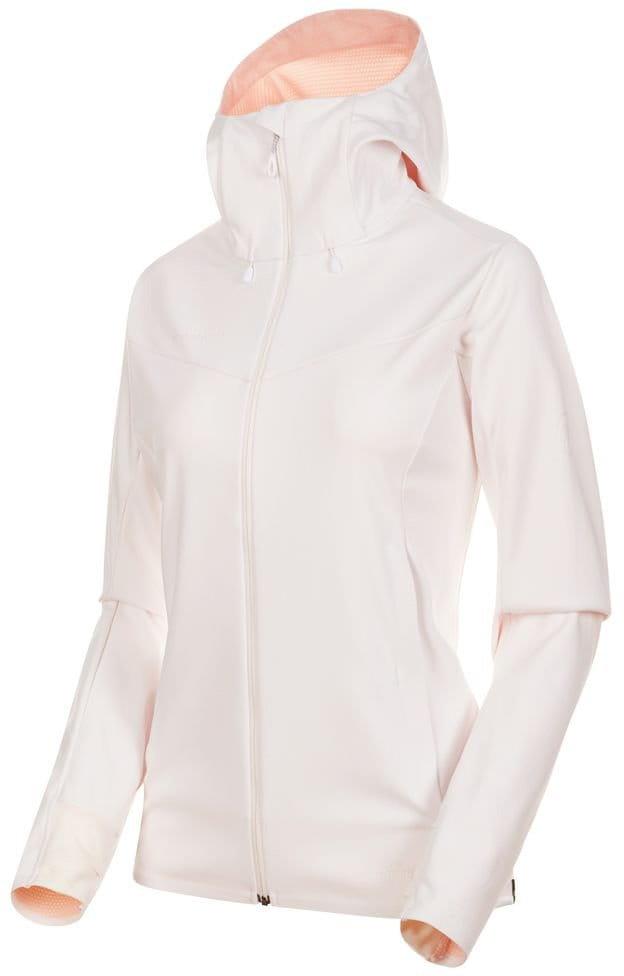 Dámská softshellová bunda Mammut Ultimate V SO Hooded Jacket Women