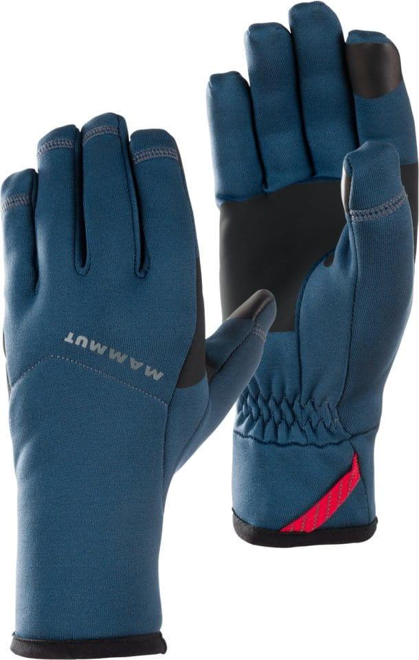Unisexové rukavice Mammut Fleece Pro Glove