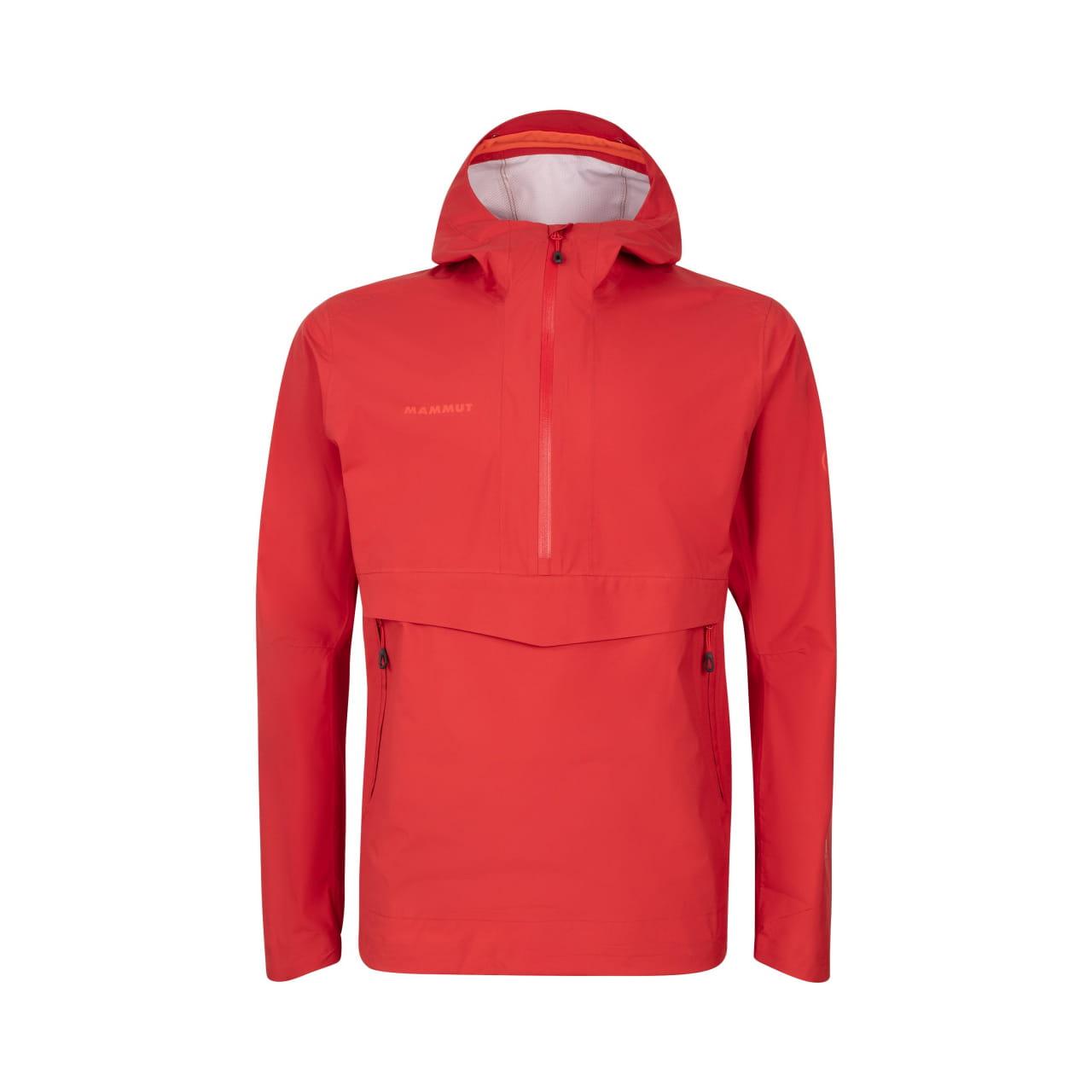 Pánská bunda s kapucí Mammut Albula Half Zip HS Hooded Jacket Men