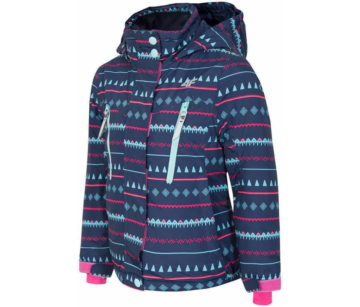 Bundy 4F Girl's ski jacket JKUDN302