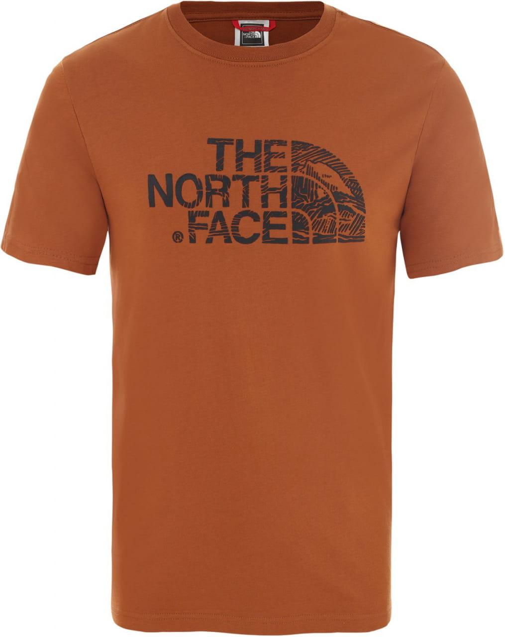 Pánské tričko The North Face Men's Woodcut Dome T-Shirt