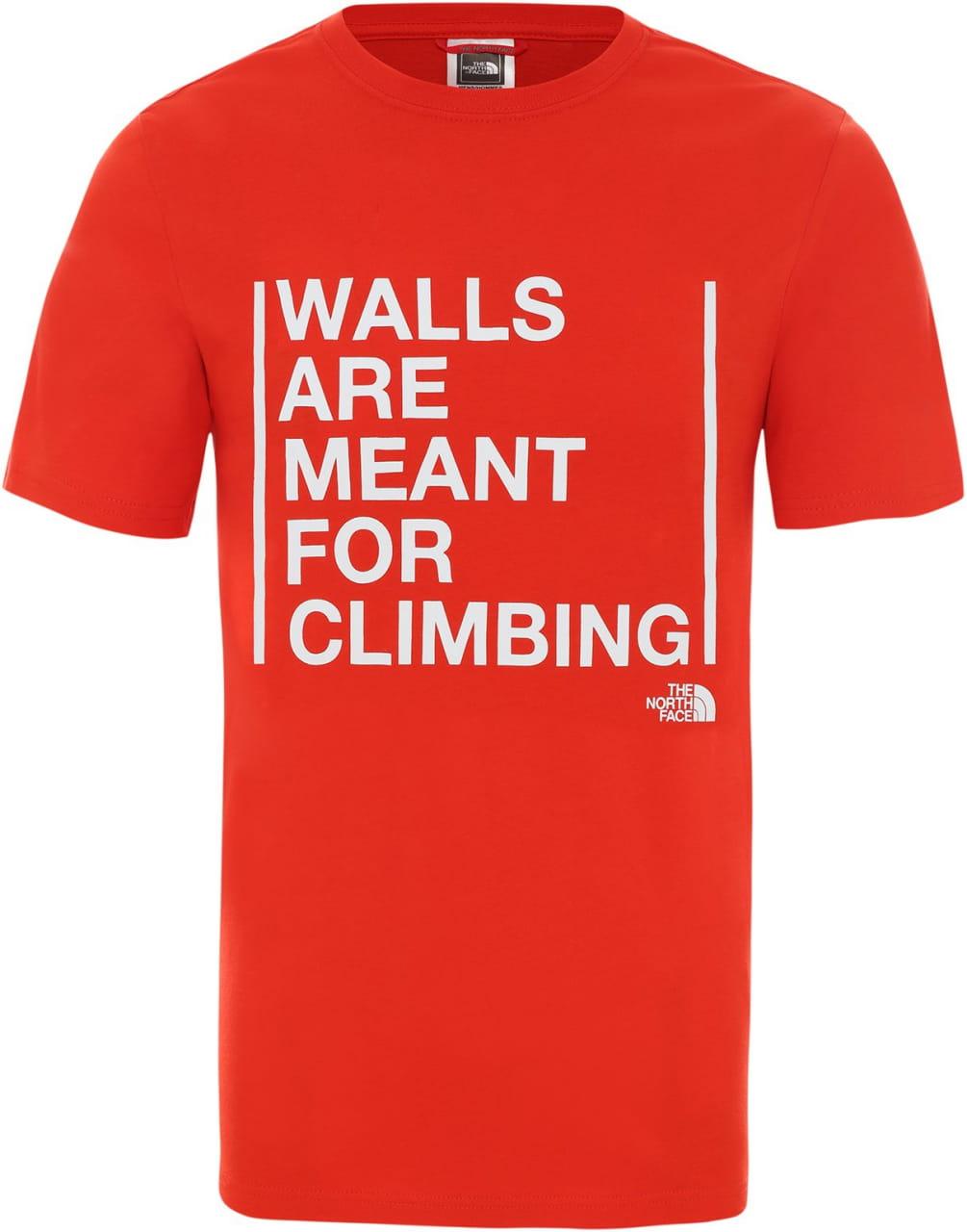 Pánské tričko The North Face Men's Walls Are For Climbing T-Shirt