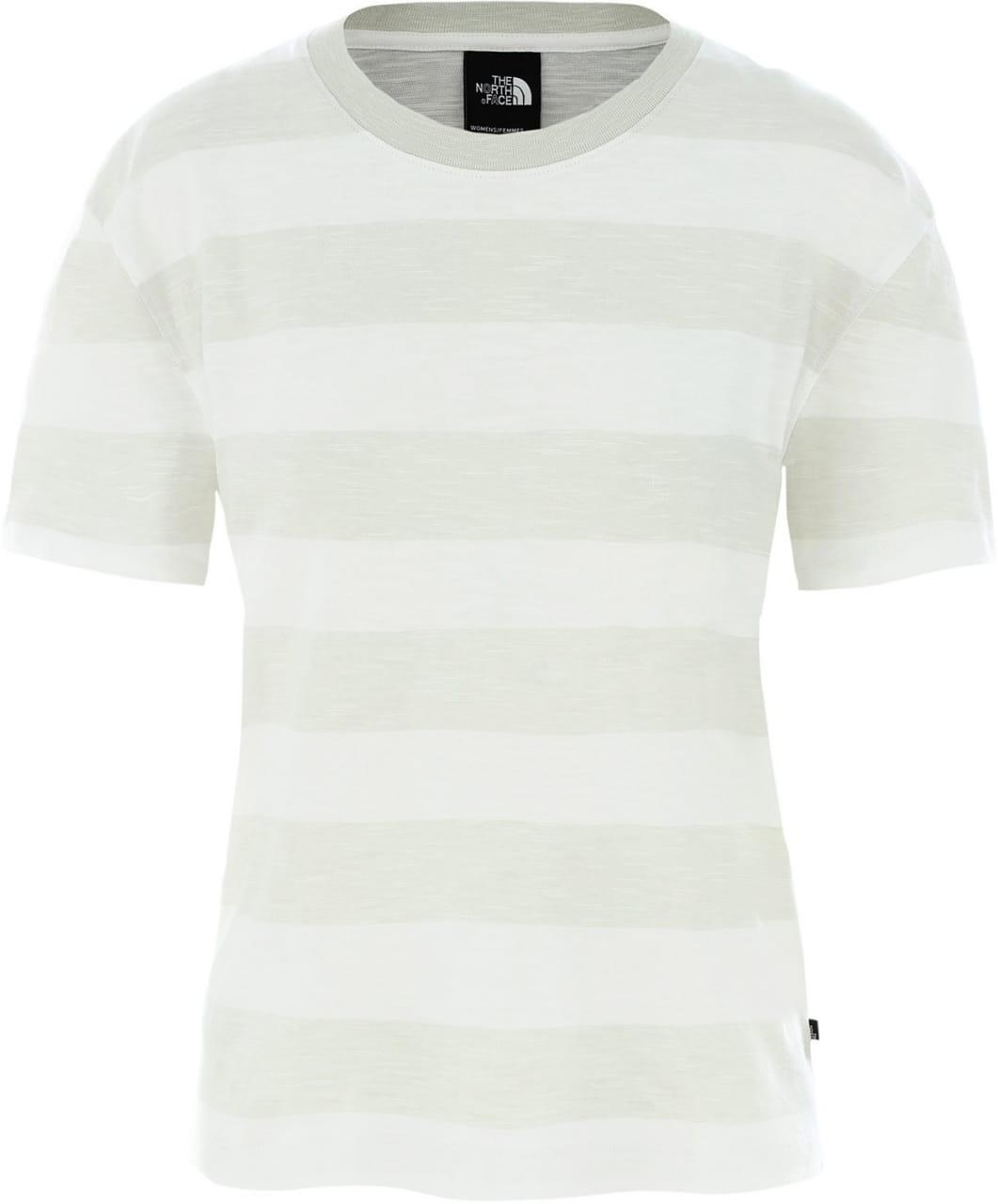 Dámské pletené tričko The North Face Women's Stripe Knit Short-Sleeve T-Shirt