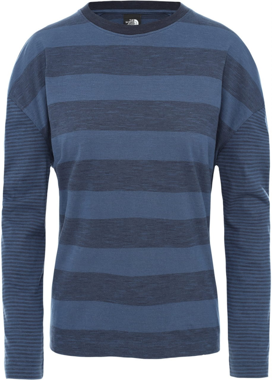 Dámské pletené tričko The North Face Women's Stripe Knit Long-Sleeve T-Shirt