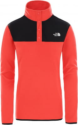 Dámská flísová mikina The North Face Women's Tka Glacier Snap-Neck Fleece Pullover