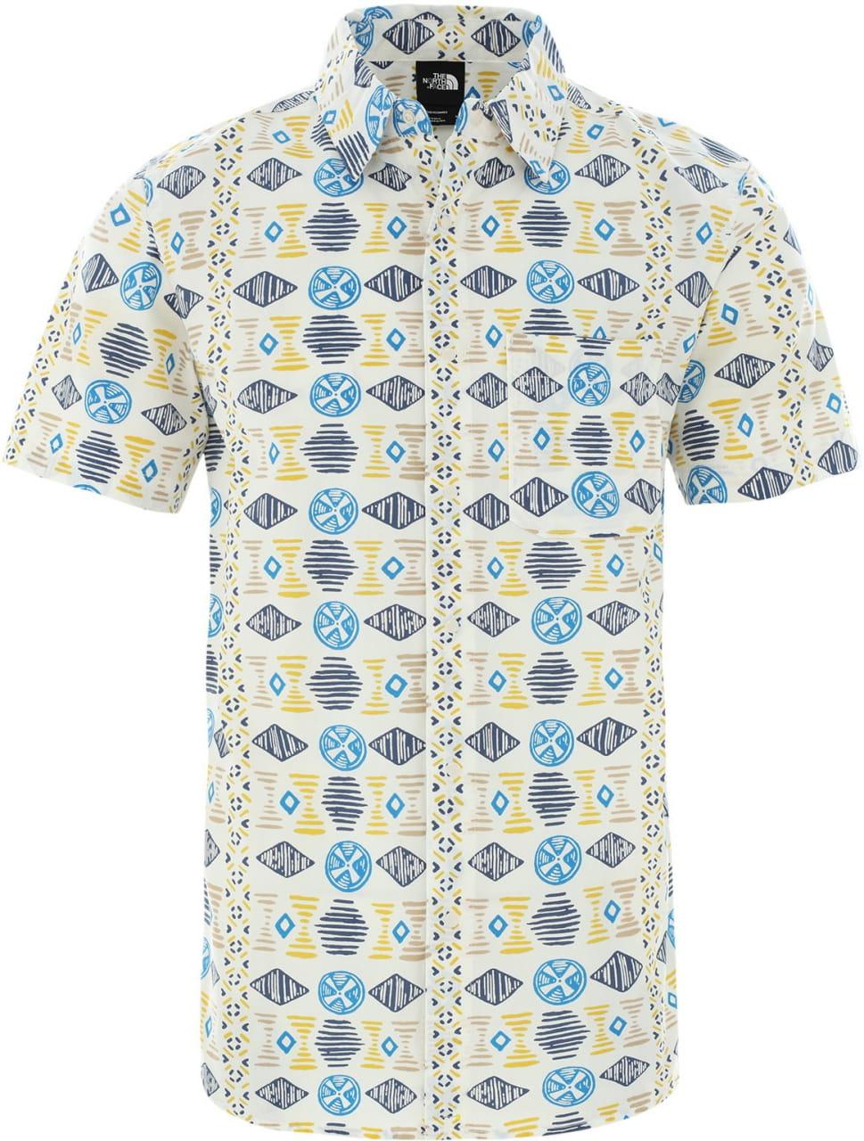 Pánské tričko The North Face Men's Baytrail Pattern Short-Sleeve Shirt
