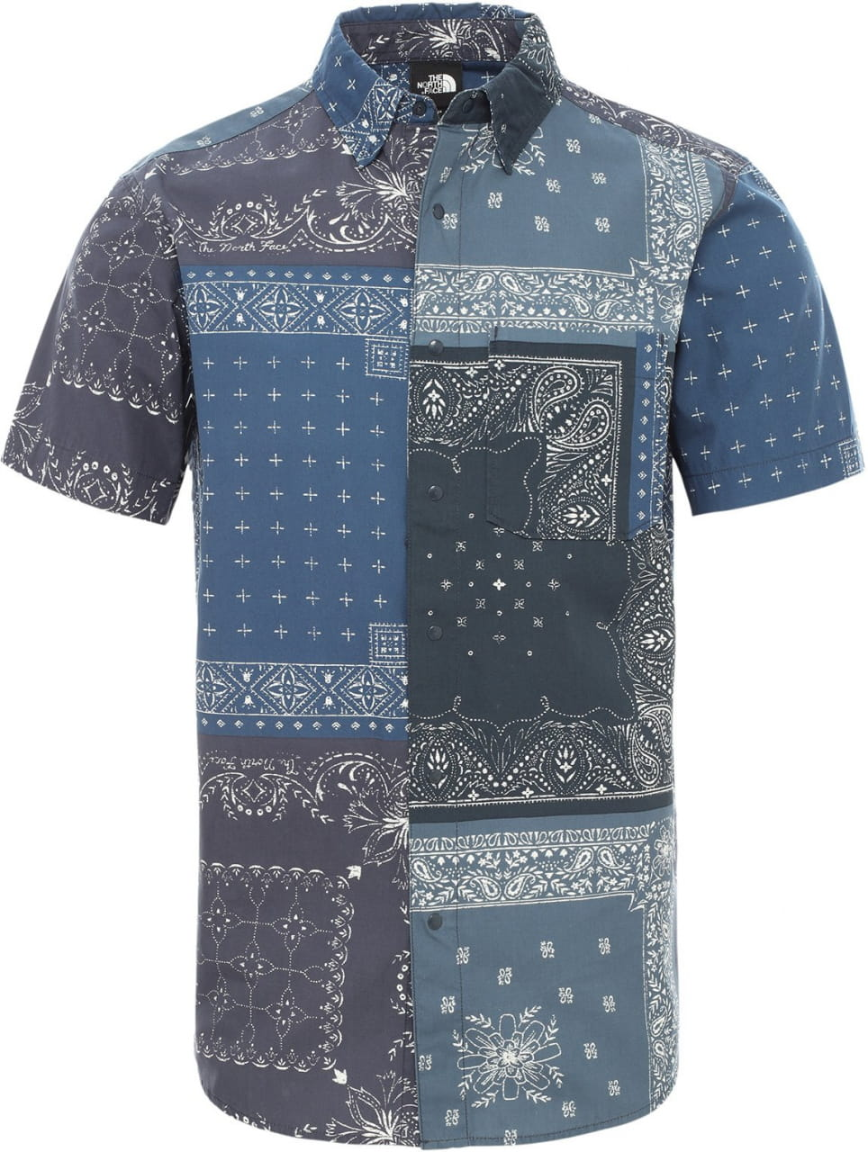 T-Shirts The North Face Men's Baytrail Pattern Short-Sleeve Shirt