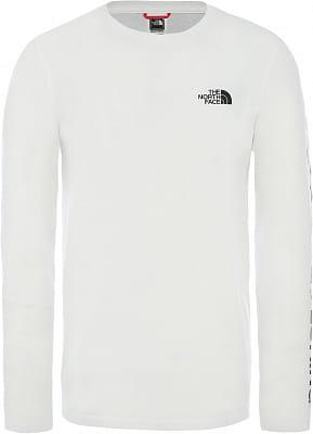 Pánské tričko The North Face Men's Graphic Flow Long-Sleeve T-Shirt