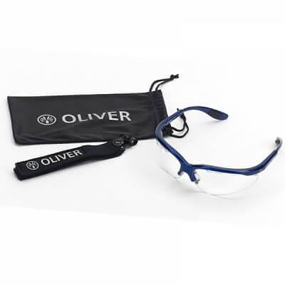 Squashové brýle Oliver SPORT GOGGLES stříbrná