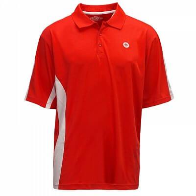 Trička Oliver LIMA POLO červená/bílá - pánské triko