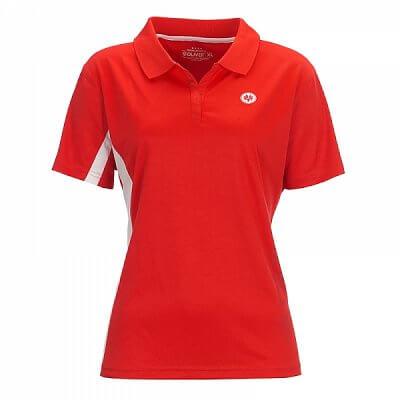 Trička Oliver LIMA LADY POLO červená/bílá - dámské triko